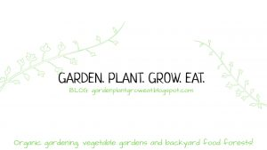 Garden. Plant. Grow. Eat. Blog Cover Image Organic gardening, vegetable gardens and backyard food forests.